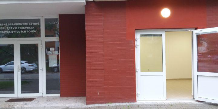 INZERÁT – prenájom priestoru na podnikanie v budove OSBD Prievidza.